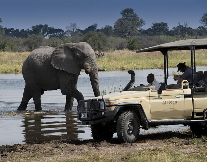 Khwai Tented Camp Safari in style